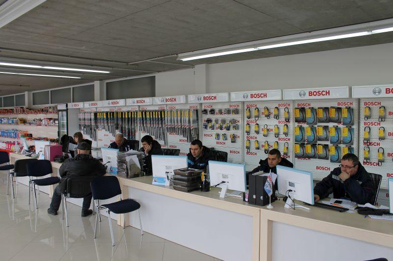 Новая приёмка заказов в Bosch Автосервис НЬЮТОН