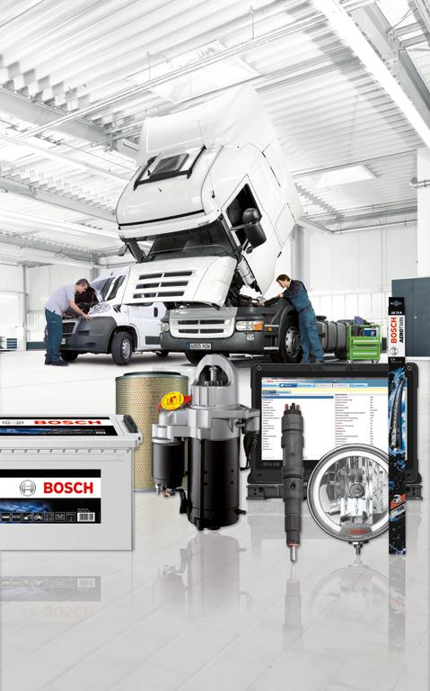 Обновленная грузовая программа Bosch – запчасти, диагностика и полное сервисное обслуживание